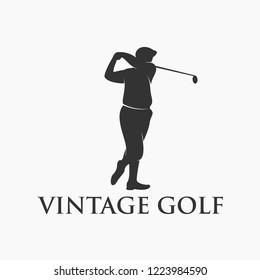 Vintage Golf Logo Design
