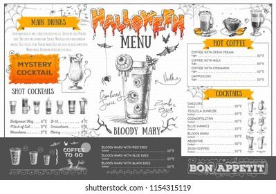 restaurant cafe menu template design food のベクター画像素材