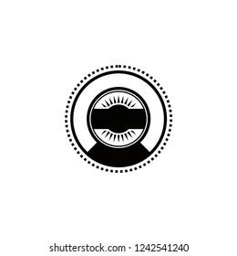 vintage hipster badge labels logo