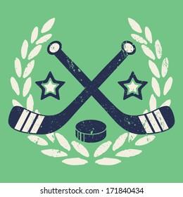 Vintage Hockey Crest