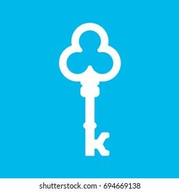 Vintage Key Vector Company Logo, Vector letter K