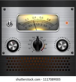 vintage leveling amplifier