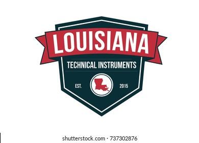 Vintage logo gas and oil industry emblem vector