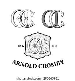 Vintage Logos based on AC Monogram
