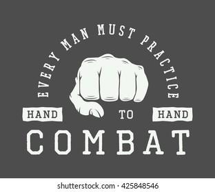 Combat Logo Images, Stock Photos & Vectors | Shutterstock