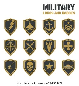 Army patch images stock photos vectors shutterstock for Military patch template