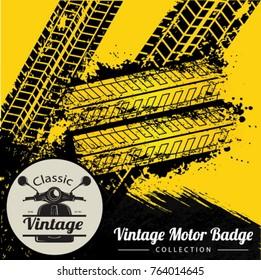 Vintage Motor Badge 2.