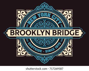 Vintage New York Brooklyn t-shirt