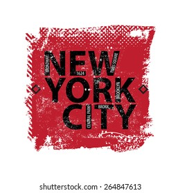 Vintage New york city logo shirt