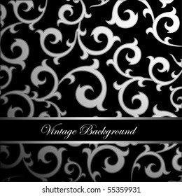 vintage ornament background