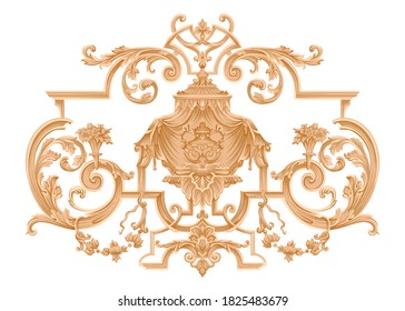vintage ornamental historical artistic building decorative symbol