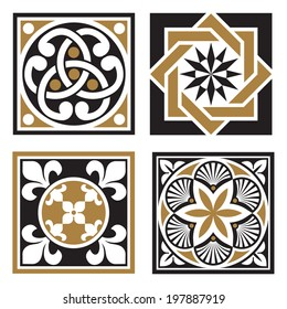 Vintage Ornamental Patterns