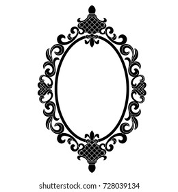 Oval Victorian Frames Images Stock Photos Vectors Shutterstock