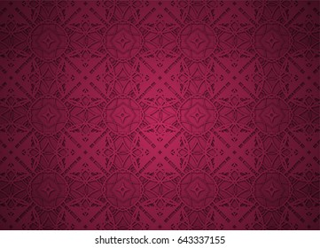 Vintage pattern backgrounds for design.