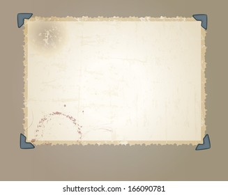 vintage photographic picture frame, free copy / pix space