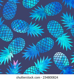 Vintage pineapple seamless for your business