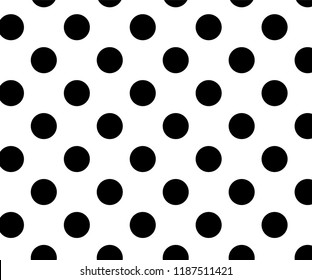 Vintage polka dots  pattern, colorful background - vector abstract background