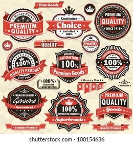 Vintage Premium quality labels (45)