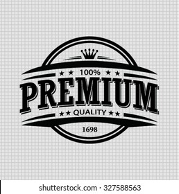 vintage premium quality stamp and elements