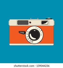 vintage rangefinder film camera