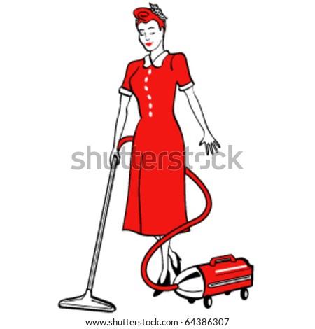 Retro Housekeeper