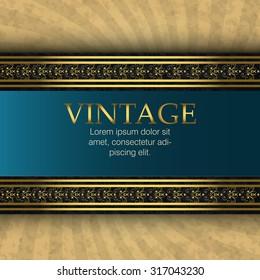 Vintage retro background, vector illustration eps 10.