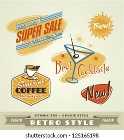 Vintage and retro labels \ logo
