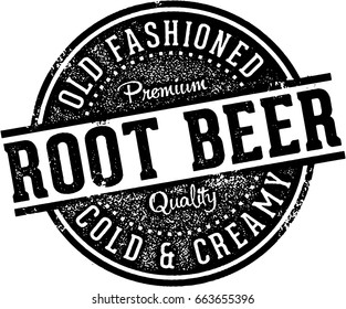 Vintage Root Beer Soda Fountain Sign