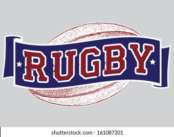 Vintage Rugby Design