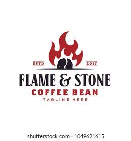Vintage Rustic Coffee Roaster Logo design inspiration