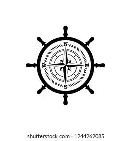 vintage sailor badge logo