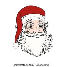 Vintage Santa Claus Vector