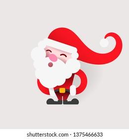 Vintage Santa logo for your design and needs.