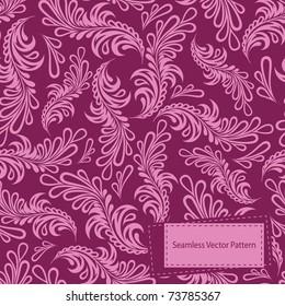 Vintage seamless pattern. EPS-8.