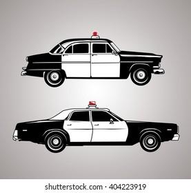Vintage Squad Cars