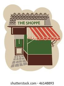 Vintage store front