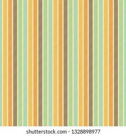 Vintage striped background seamless pattern. Vector illustration.
