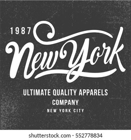 vintage style college typography, vector, illustration