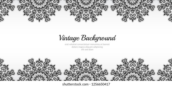 Vintage style design elements for your cards and banners.