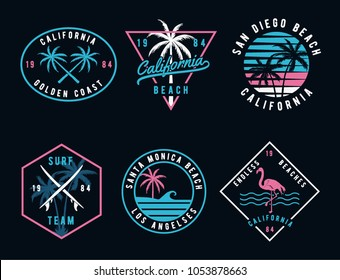 Vintage style print design, for t-shirt prints patches, emblems, badges and labels and other uses.