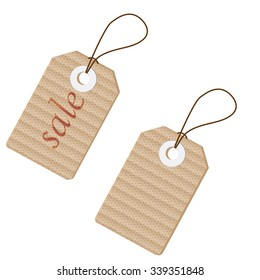 vintage style tags and labels for sales, design