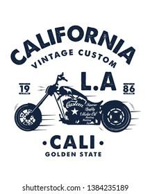 vintage style vector design for tee print - Vektör