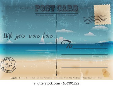 Travel Postcard Images, Stock Photos & Vectors | Shutterstock