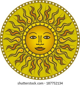 Vintage Sun #01