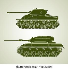 Vintage Tanks