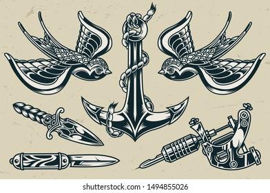 Vectores Imagenes Y Arte Vectorial De Stock Sobre Tattoo