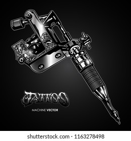 Tattoo Machine Images Stock Photos Vectors Shutterstock
