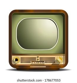 Vintage Television.