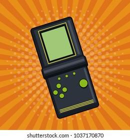 Vintage tetris pop art
