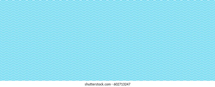 Vintage tiling seamless pattern with waves. Abstract wavy ornament with simple geometric shapes, lines. Endless vector texture for wallpaper, wrapping paper, background, surface texture, pattern fill